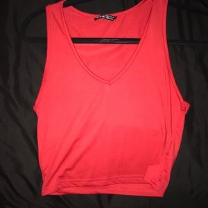 red tank top :)